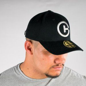Cuzy T Mens Baseball Black And Silver Cap One Size